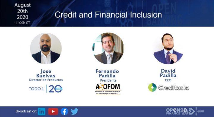 Inclusión financiera y crediticia