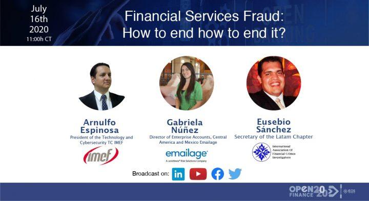 Vea nuevamente nuestro webinar Financial services fraud: how to end it?