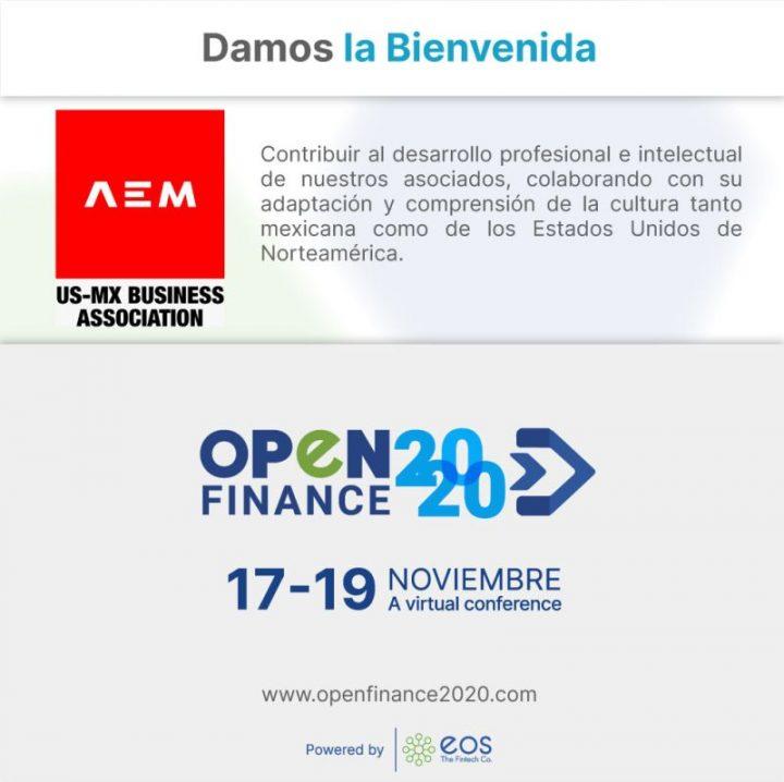 Damos la bienvenida a AEM por unirse a openfinance2020