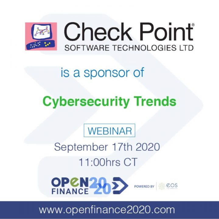 Bienvenido Check point Patrocinador de webinar