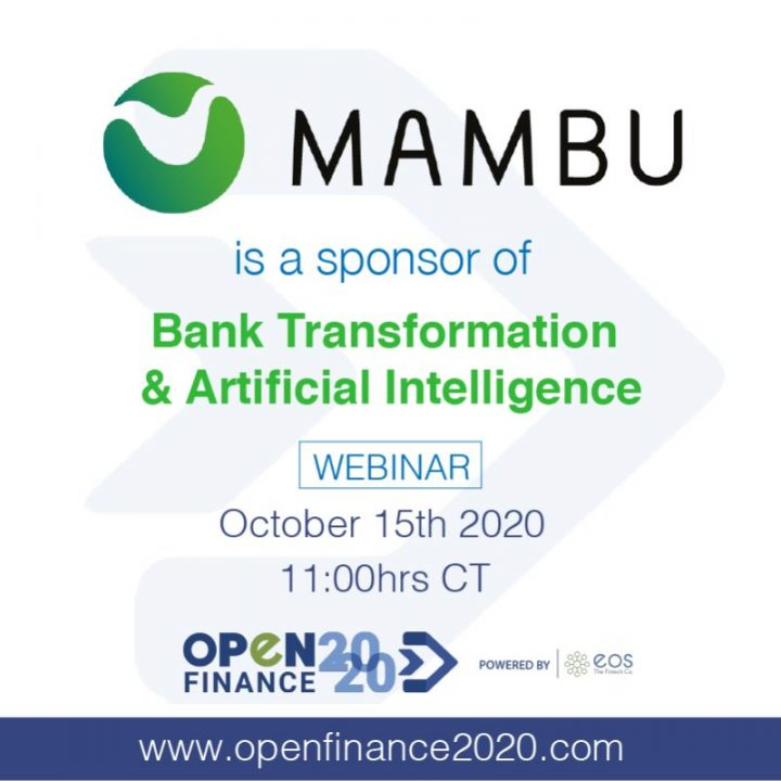 Bienvenido a openfinance2020 Mambu