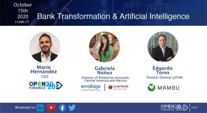 Transformación bancaria e inteligencia artificial