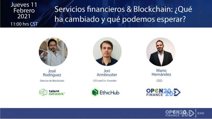 ¿Quieres conocer las tendencias en Servicios Financieros y Blockchain?