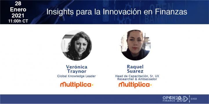 ¿Quieres saber de los insights sobre la innovación financiera?