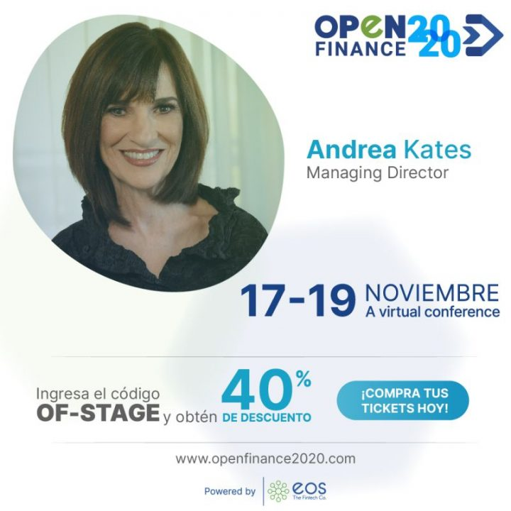 Andrea Kates in openfinance2020