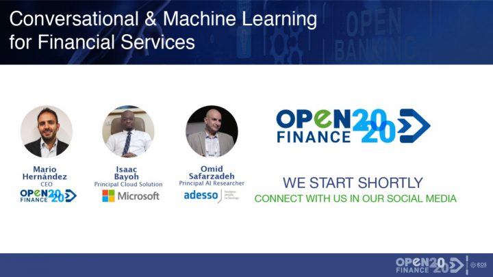 Conversational & Machine Learning for Financial Services webinar