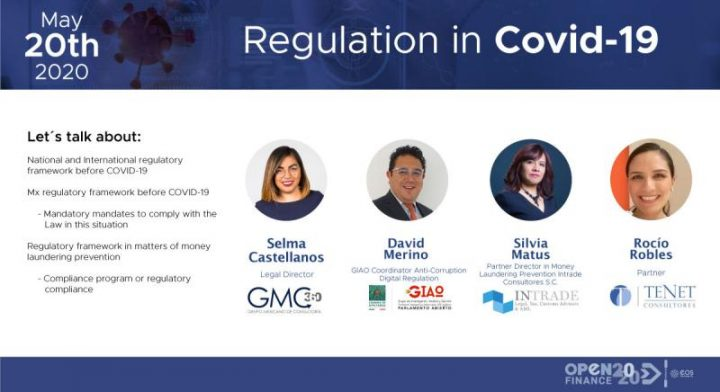 In case you missed it here is our webinar Regulation in Covid-19