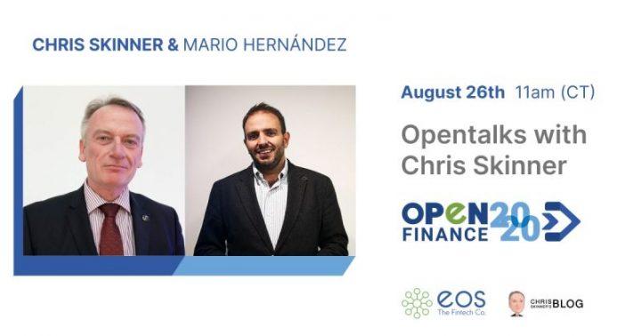 Opentalks with Chris Skinner