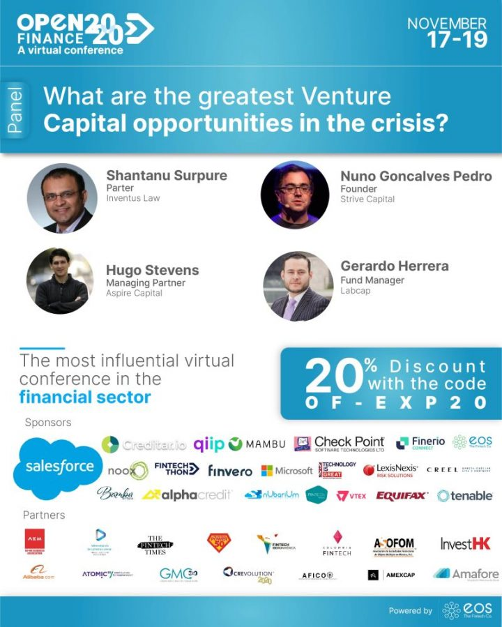 What are the greatest Venture Capital opportunities in the crisis?