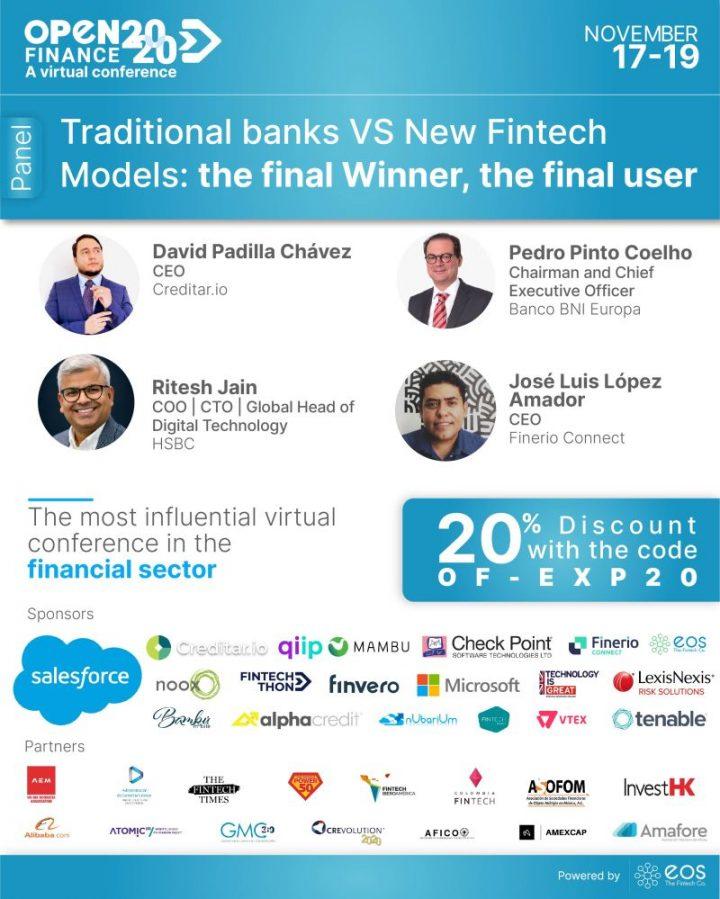 Traditional banks vs. New Fintech models: the final winner, the end user