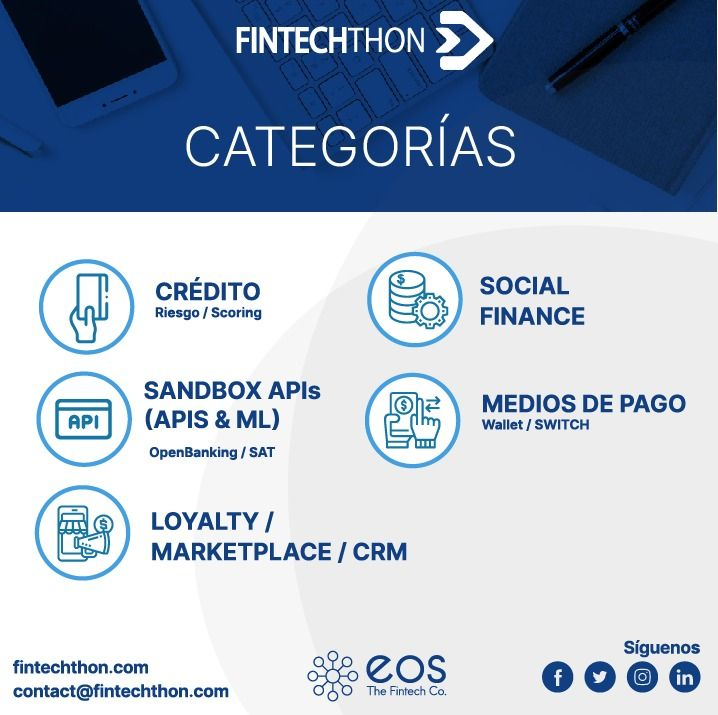 Do you already know which are the FintechThon categories?