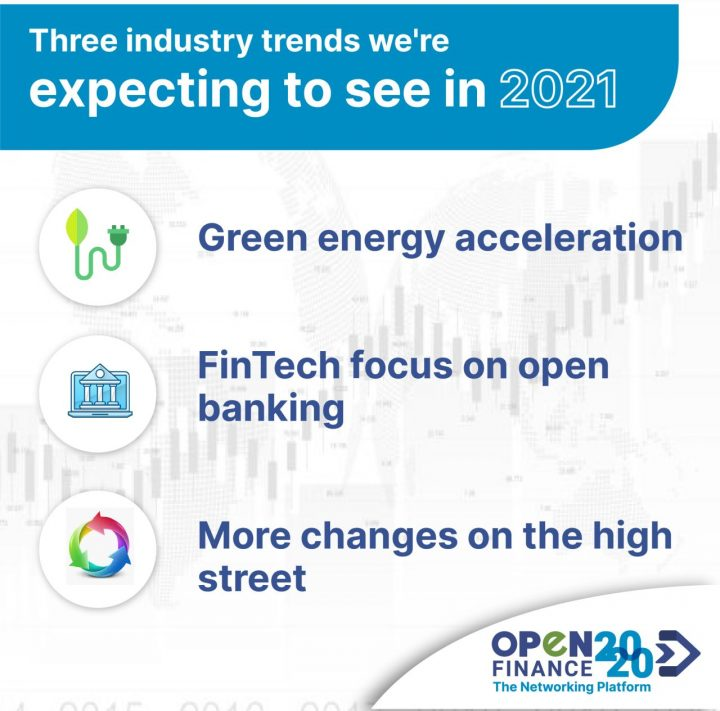 These are 3 trends that are expected to be seen in 2021 in the Fintech Sector.