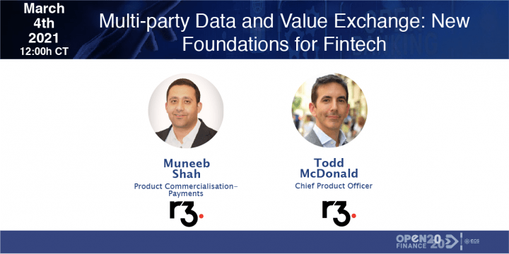 Multiparty Data and Value Exchange: New Foundations for Fintech